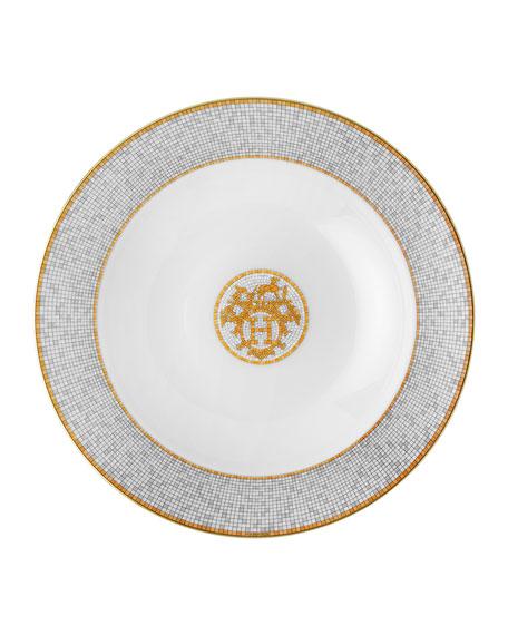 Hermès Mosaique au 24 Platinum Medium Platter