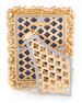 "Image 2 of 2: Emery Bejeweled Picture Frame, 4"" x 6"""