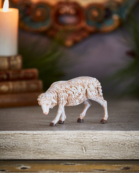 Fontanini Sheep with Lowered Head Nativity Figurine