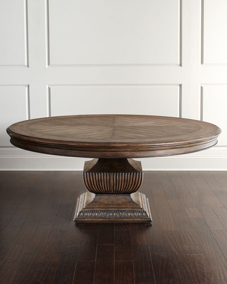 "Image 1 of 3: Hooker Furniture Donabella 72"" Round Dining Table"