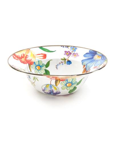 Flower Market Serving Bowl