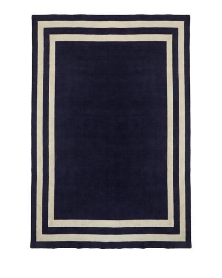 Fitzgerald Border Rug, 9' x 12'