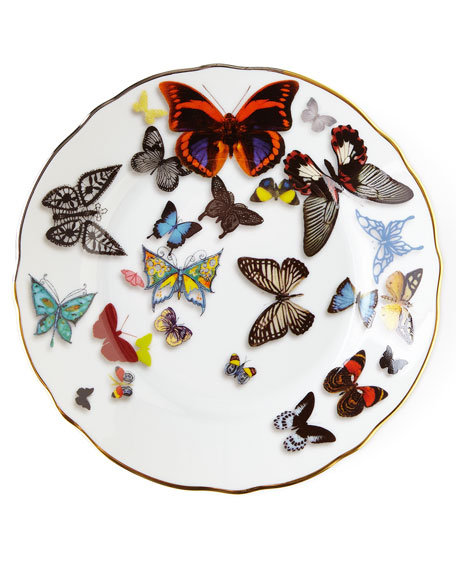 Image 1 of 1: Butterfly Parade Bread & Butter Plate