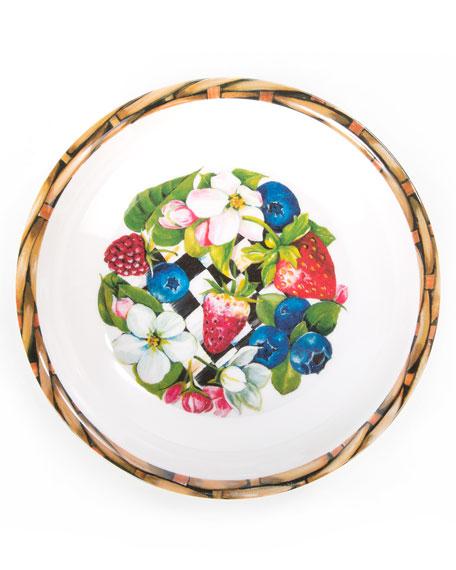 Berry Blossom Bowls, Set of 4