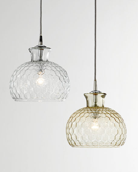 Image 1 of 2: Jamie Young Clark 1-Light Pendant