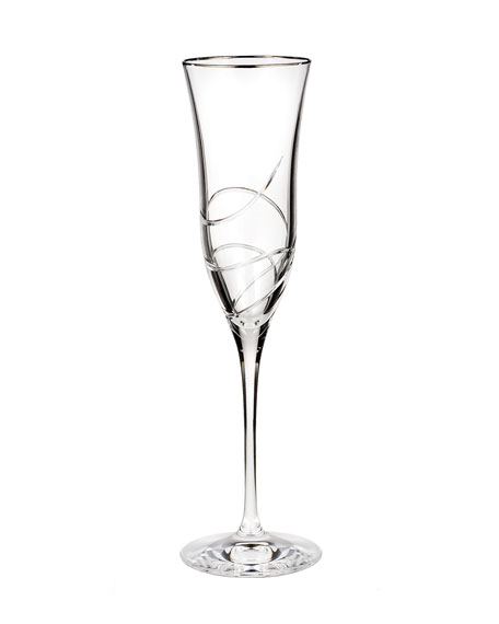 Waterford Crystal RIBBON CHAMPAGNE FLUTE