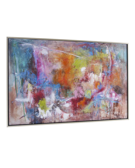 "Image 2 of 2: John-Richard Collection ""Seville"" Abstract Giclee on Canvas Wall Art"