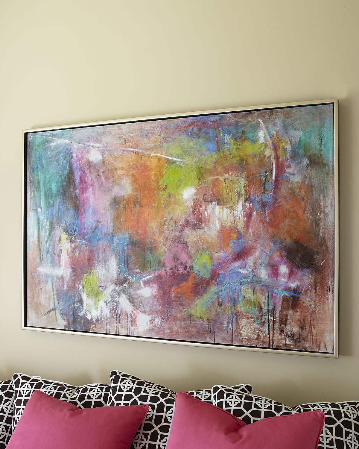 "John-Richard Collection ""Seville"" Abstract Giclee on Canvas Wall Art"
