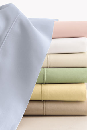 Sferra King Italian 500 Thread Count Percale Fitted Sheet