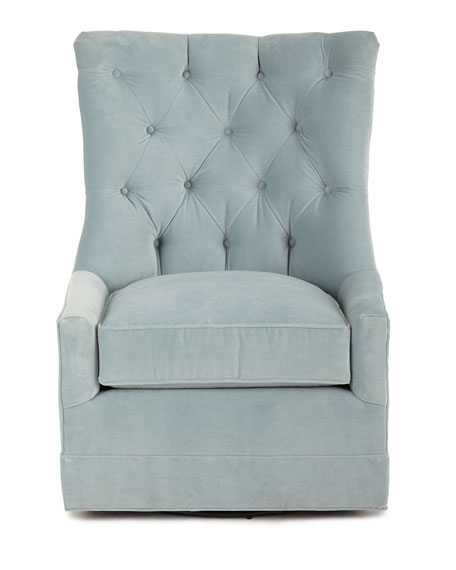 Remus Tufted Swivel Chair