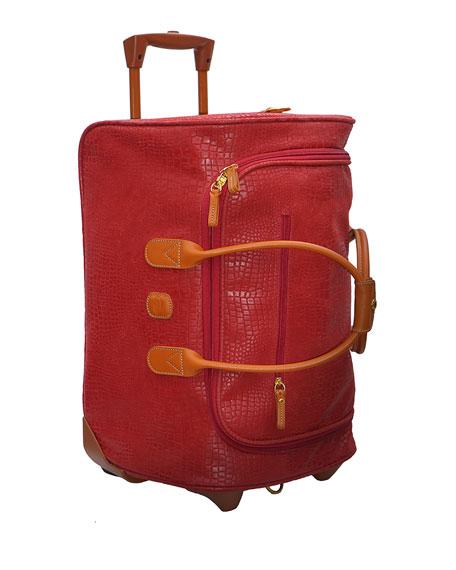 Bric S Red My Safari 21 Quot Rolling Duffel Luggage