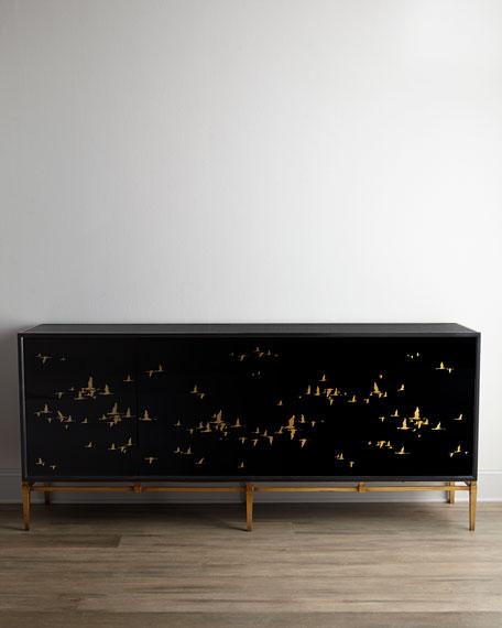 John-Richard Collection Marla Noir Console