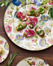 Image 3 of 5: Morning Glory Serving Platter