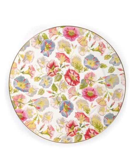 Morning Glory Serving Platter
