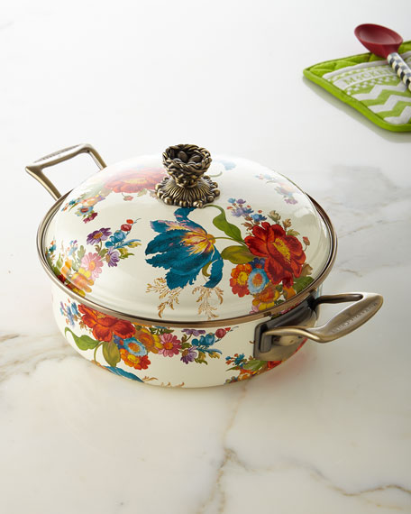 MacKenzie-Childs Flower Market 3-Quart Casserole