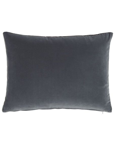 Designers Guild Cassia Granite Velvet Pillow