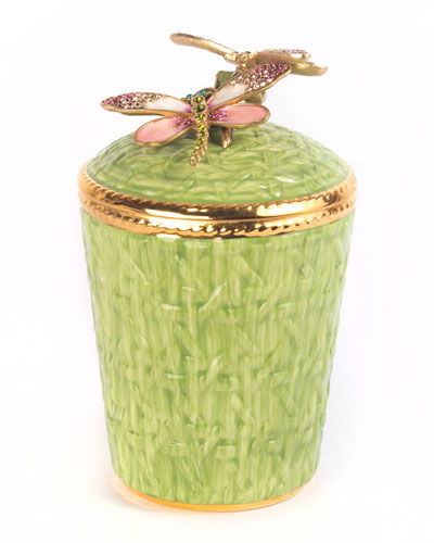 Dragonfly Trellis Candle