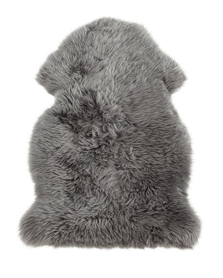 Sheepskin Rug, 4' x 6'