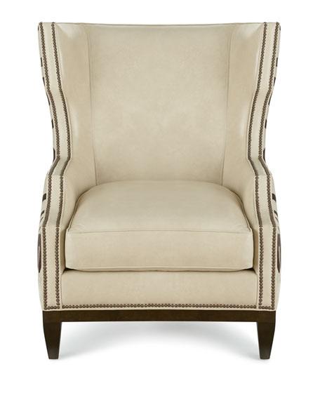 Massoud Borra Hairhide Chair