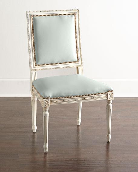 Massoud Ingram Leather Dining Chair, E7