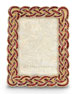 "Aileen Braided 3.5"" x 5"" Picture Frame"