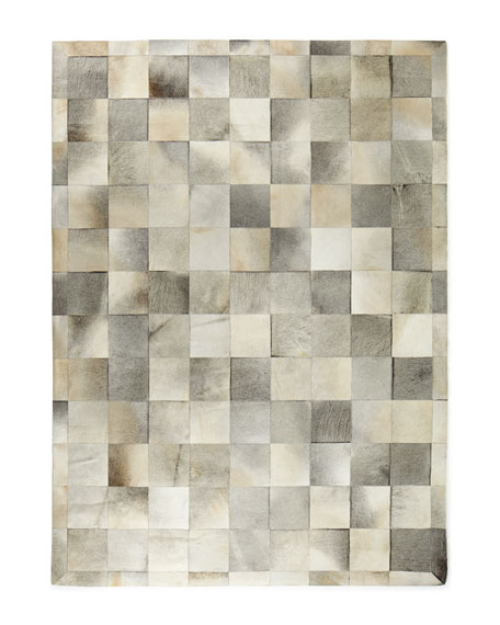 Exquisite Rugs Winslow Hide Blocks Rug, 9'6
