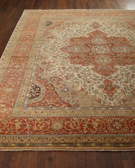 Exquisite Rugs Loren Serapi Rug, 10' x 14'