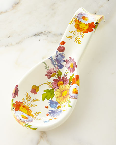 MacKenzie-Childs Flower Market Spoon Rest
