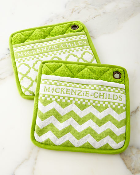 Key Lime Pot Holders, Set of 2