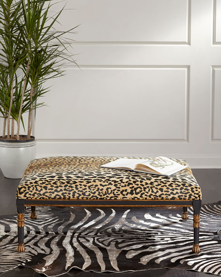 John-Richard Collection Macayla Coffee Table Ottoman