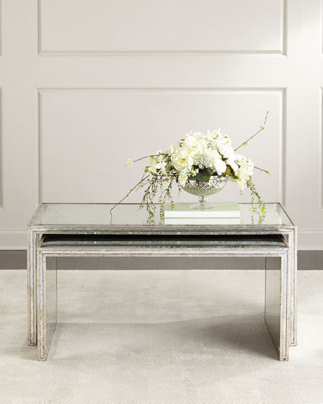 John-Richard Collection Malcolm Nesting Coffee Tables