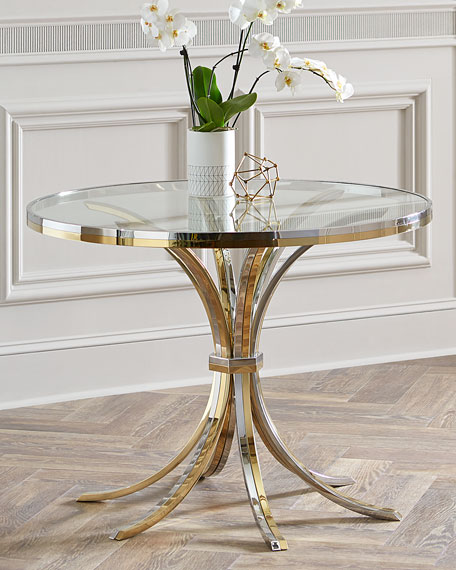 Interlude Home Cain Entry Table