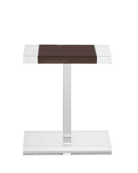 Interlude Home Waldo Acrylic Side Table