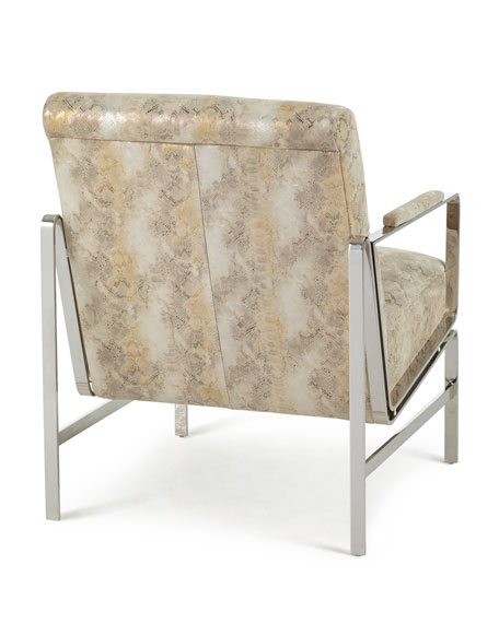 Massoud Getty Leather Chair