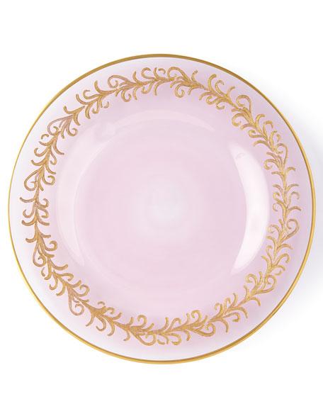 Neiman Marcus Blush Oro Bello Salad Plates, Set of 4