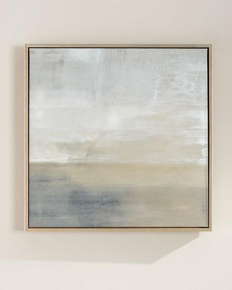 "John-Richard Collection ""Slated No. 2"" Square Giclee on Canvas Wall Art"