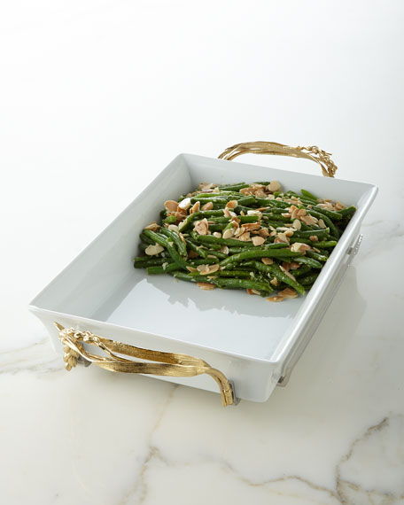 Michael Aram Wheat Casserole Dish