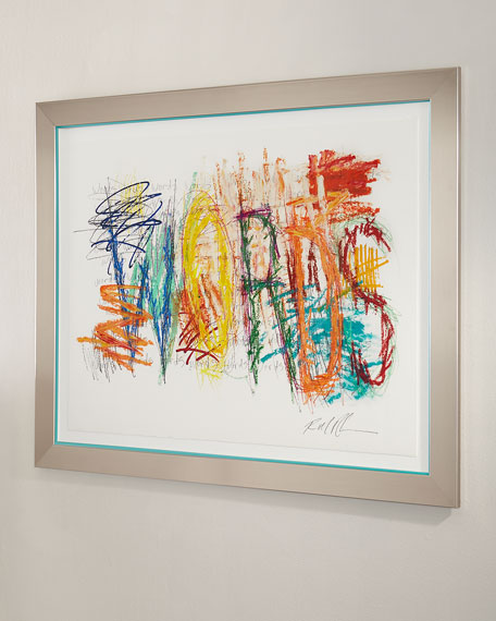 "RFA Fine Art ""Mark My Word 4"" Giclee on Paper Wall Art"
