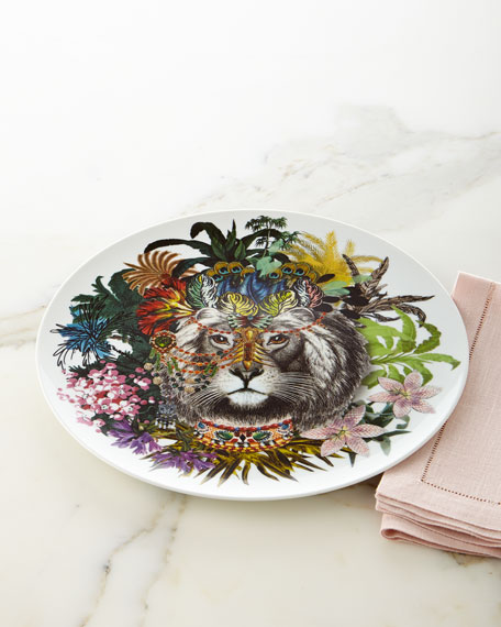 Christian Lacroix Jungle King Charger Plate