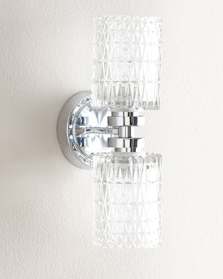 Giada Crystal Wall Sconce & Giada Crystal Wall Sconce | Neiman Marcus