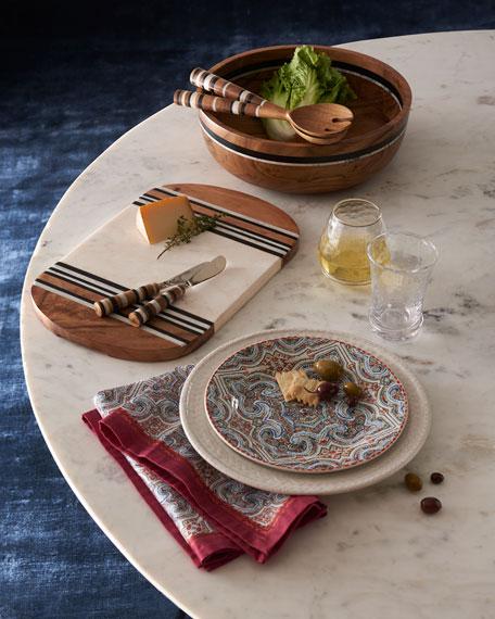Juliska Stonewood Stripe 2-Piece Salad Serving Set