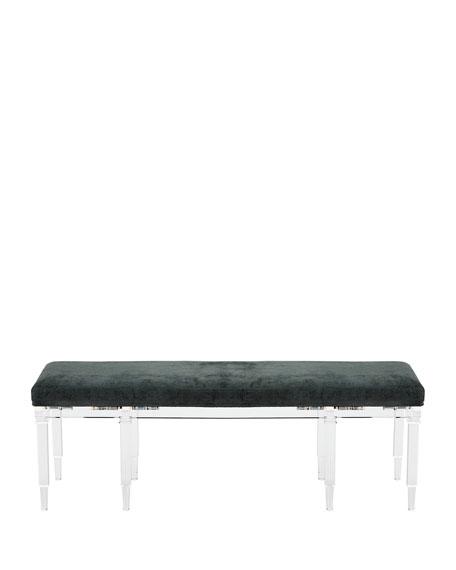 Ambella Battista Acrylic Bench