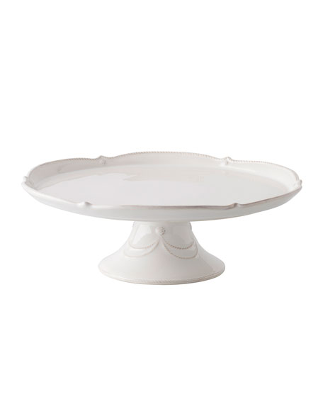 Juliska Berry & Thread Whitewash Cake Stand