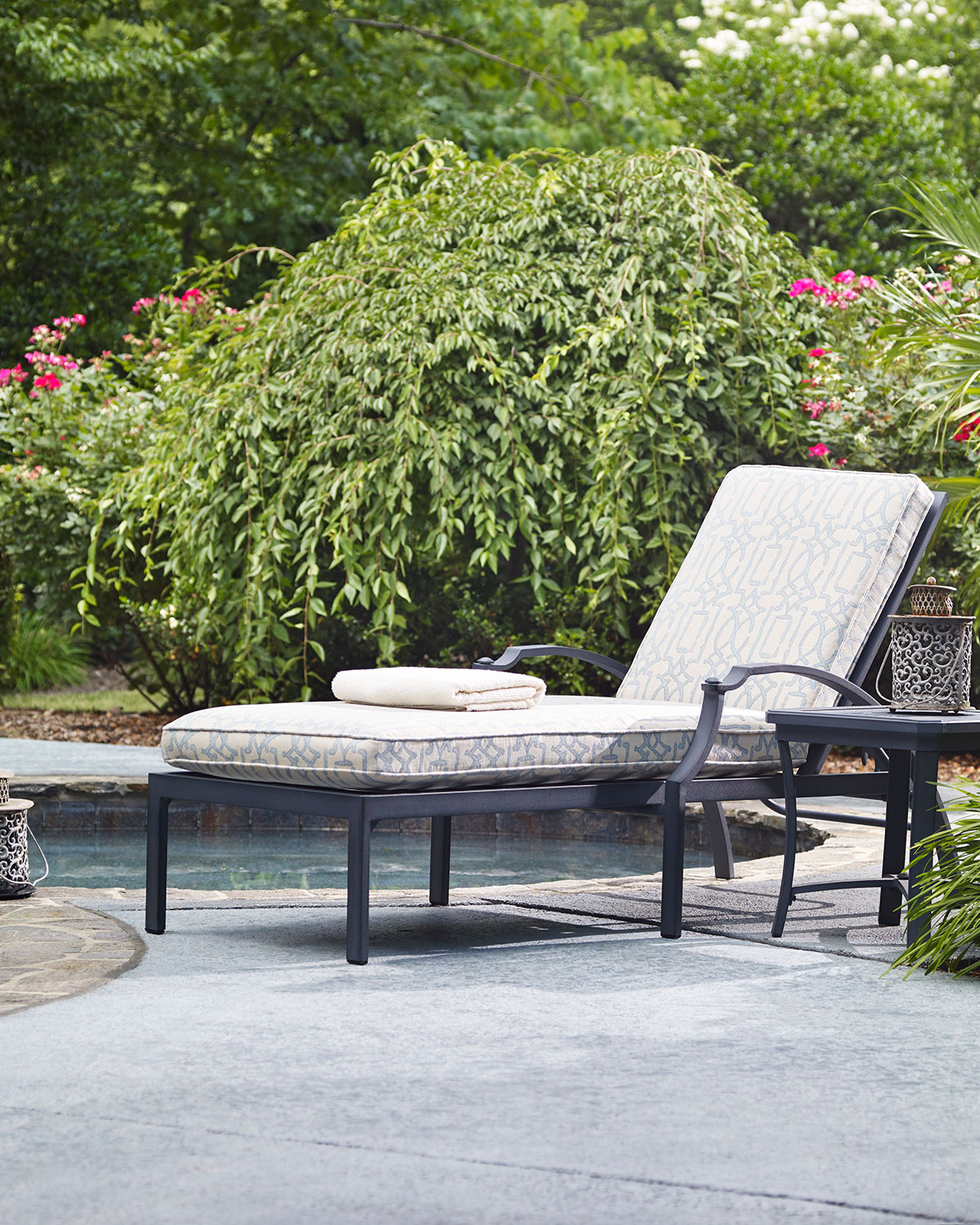 Raleigh Outdoor Chaise