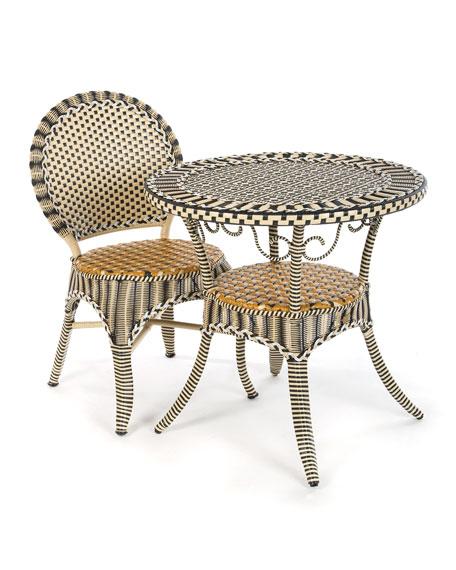 MacKenzie-Childs Courtyard Outdoor Cafe Chair