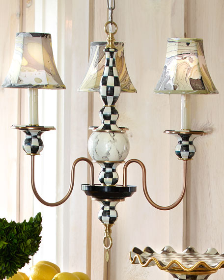 MacKenzie-Childs Small Courtly Palazzo Chandelier