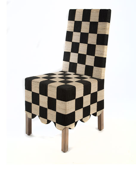MacKenzie-Childs Check Grange Side Chair