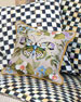 MacKenzie-Childs Small Thistle & Bee Square Pillow