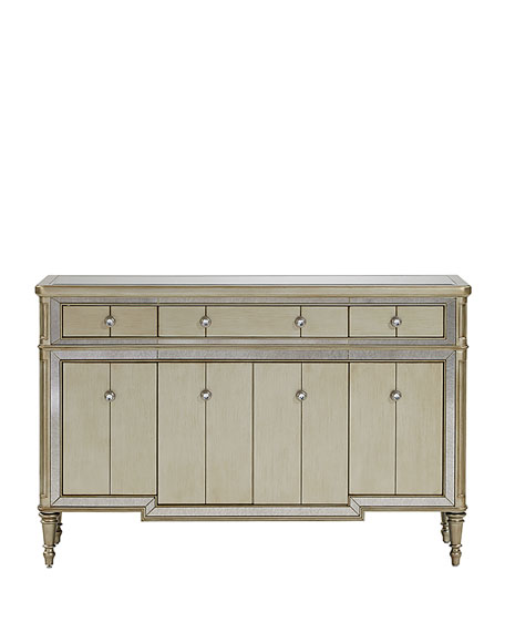 Leanna Mirrored Sideboard