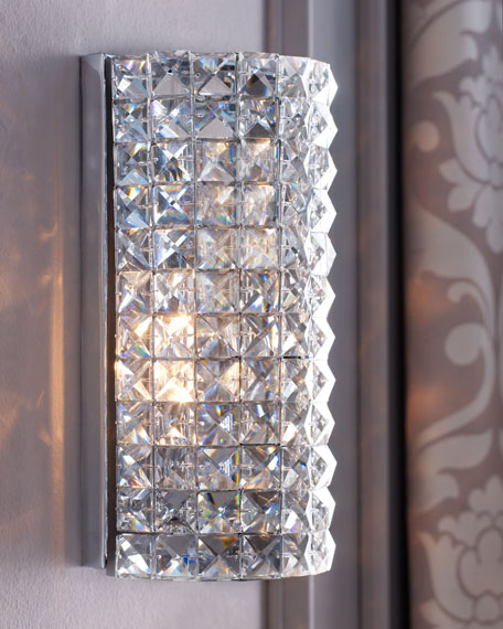 Crystal Dome Sconce